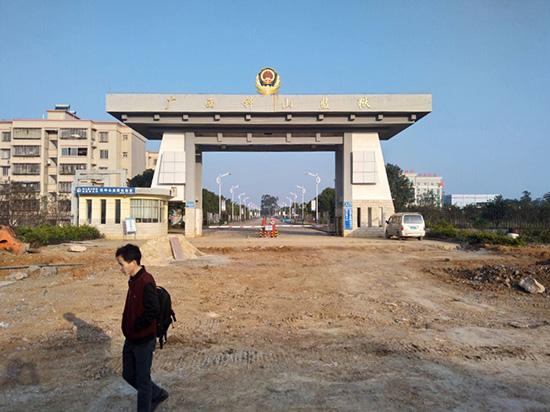 广西钟山监狱同轴高清监控项目