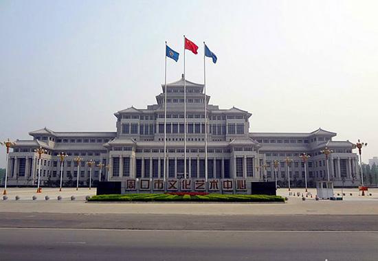 河南省周口博物馆高清监控项目