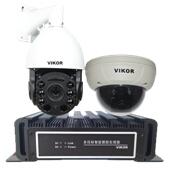 VIKOR点面结合全景视频跟踪系统